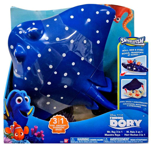 Disney / Pixar Finding Dory Swigglefish Mr. Ray 3 in 1