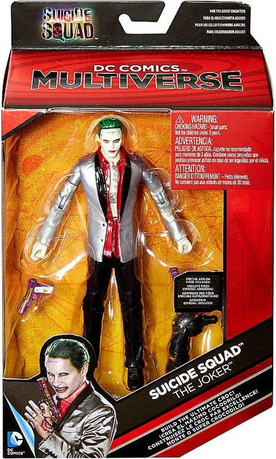 DC Suicide Squad Multiverse Ultimate Croc Series The Joker Exclusive Action Figure [Silver Sportscoat]