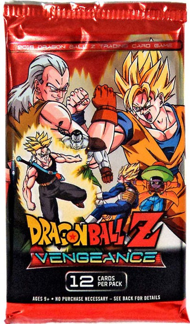 Dragon Ball Z Collectible Card Game Vengeance Booster Pack [12 Cards]