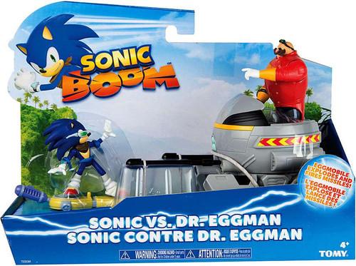 Sonic The Hedgehog Sonic Boom Sonic vs. Dr. Eggman Action Figure Set