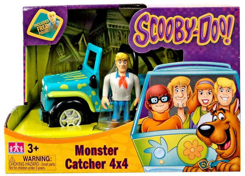 Scooby Doo Monster Catcher 4x4 Playset [Includes Fred]