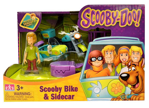 Scooby Doo Scooby Bike & Sidecar Playset [Includes Shaggy]