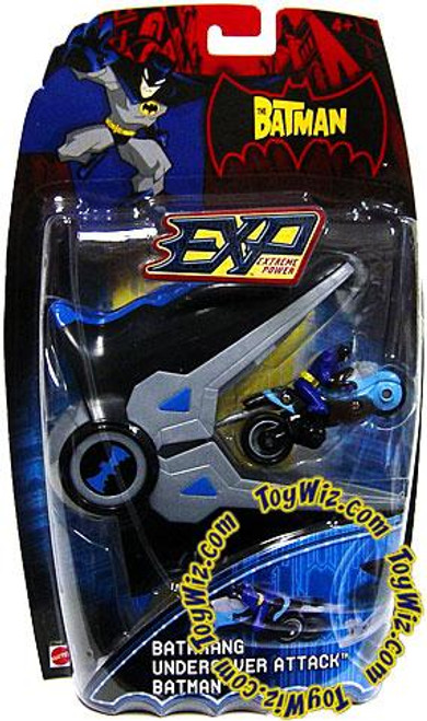 The Batman EXP Extreme Power Batarang Undercover Attack Batman Vehicle [Damaged Package]