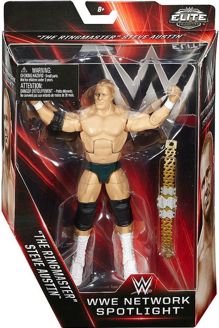 WWE Wrestling Elite Network Spotlight Steve Austin Exclusive Action Figure [The Ringmaster]