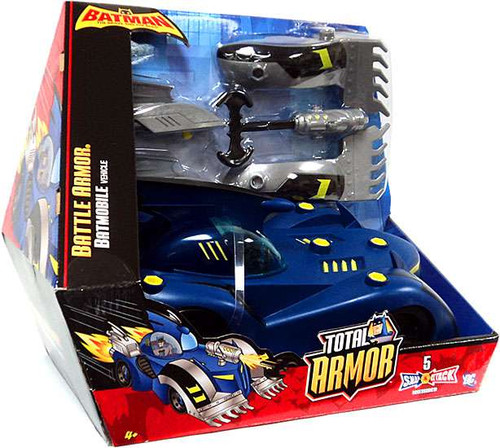 Batman Brave and the Bold Total Armor Battle Armor Batmobile Vehicle [Damaged Package]