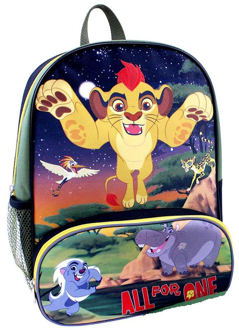 Disney The Lion Guard All For One Backpack with Hood