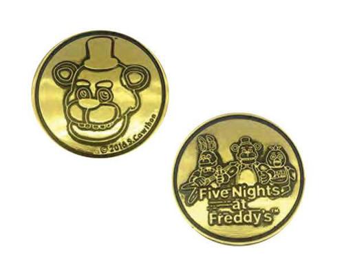 NECA Five Nights at Freddy's Fazbear's Token Collectible Arcade Token