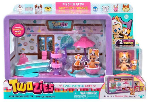 Twozies Two-Playful Cafe Mini Playset