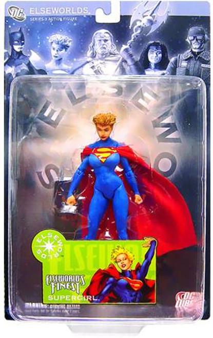 DC Elseworlds Series 3 World's Finest Supergirl Action Figure [Loose]