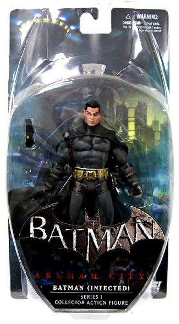 Arkham City Series 1 Batman [Infected] Action Figure [Infected, Loose]