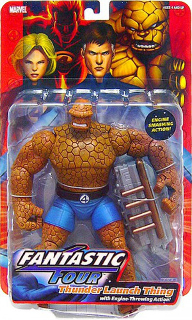 Marvel Fantastic Four Series 1 Thunder Launch Thing Action Figure