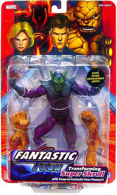 Marvel Fantastic Four Series 1 Super Skrull Action Figure
