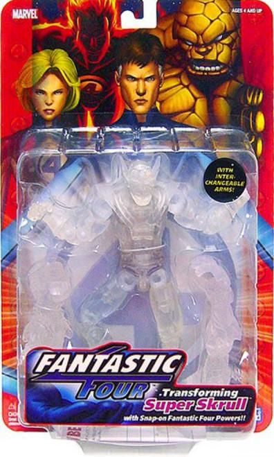 Marvel Fantastic Four Series 1 Super Skrull Action Figure [Clear Variant]