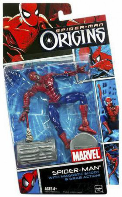 Spider-Man Origins Heroes Series 1 Spider-Man Action Figure
