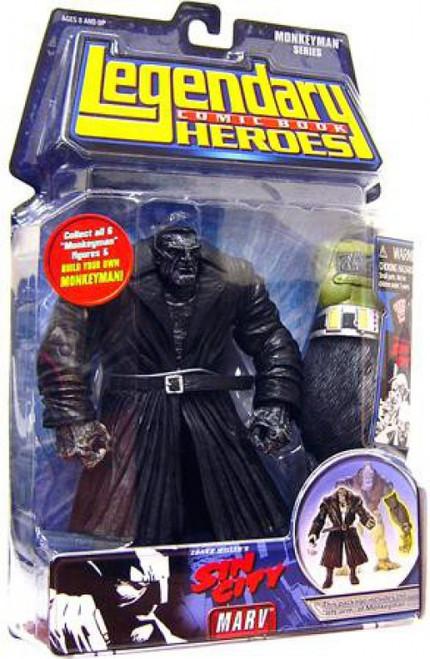 Marvel Sin City Legendary Heroes Monkeyman Series Marv Action Figure