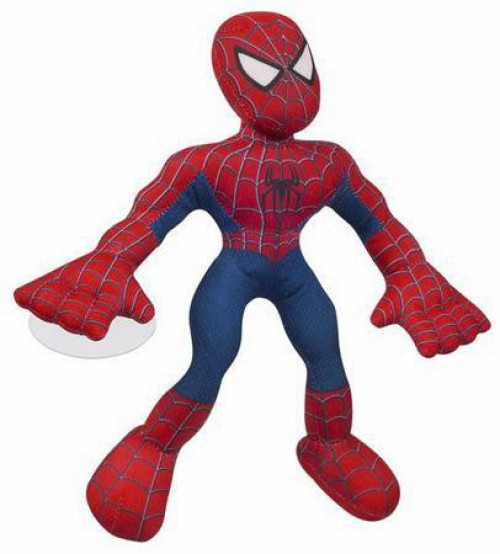 Spider-Man 3 Super Wall Clingers Spider-Man Plush