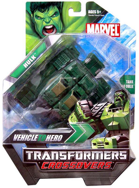 Marvel Transformers Crossovers Hulk Action Figure [Green]