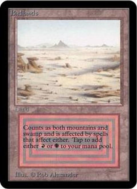 MtG Alpha Rare Badlands