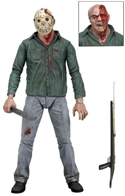 NECA Friday the 13th Series 1 Jason Voorhees Action Figure [Battle Damaged]