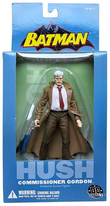 Batman Hush Series 3 Commissioner Gordon Action Figure