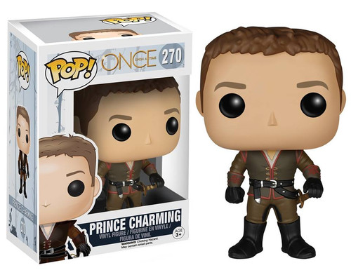 Funko Once Upon a Time POP! TV Prince Charming Vinyl Figure #270