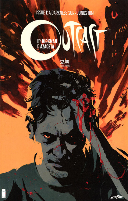 Image Comics Outcast #1 A Darkness Surrounds Him Comic Book