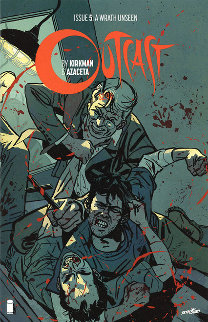 Image Comics Outcast #5 A Wrath Unseen Comic Book