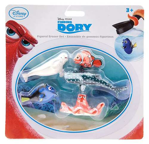 Disney / Pixar Finding Dory Figural Exclusive Eraser Set