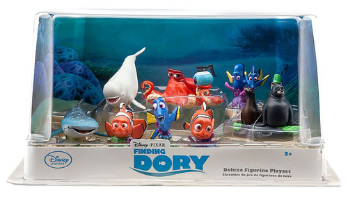 Disney / Pixar Finding Dory Exclusive 9-Piece Deluxe PVC Figure Playset