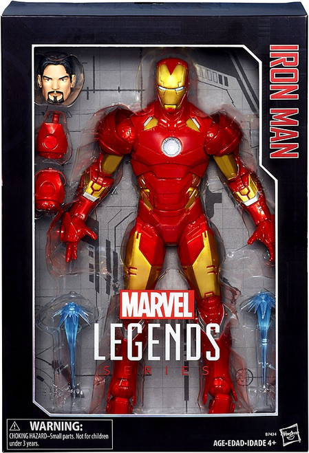 Marvel Legends Iron Man Deluxe Collector Action Figure