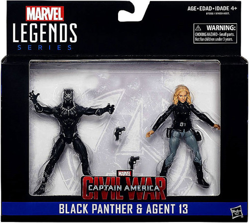 Marvel Black Panther & Agent 13 Action Figure 2-Pack