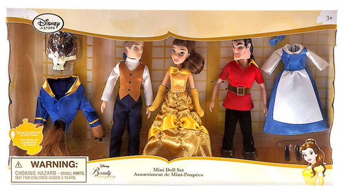 Disney Princess Beauty and the Beast Mini Doll Set
