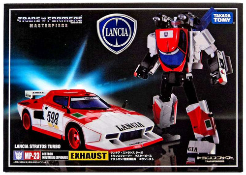 Transformers Japanese Masterpiece Collection Exhaust Action Figure MP-23 [Lancia Stratos Turbo]