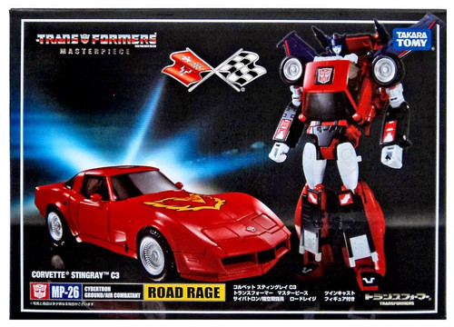Transformers Japanese Masterpiece Collection Road Rage Action Figure MP-26 [Corvette Stingray C3]