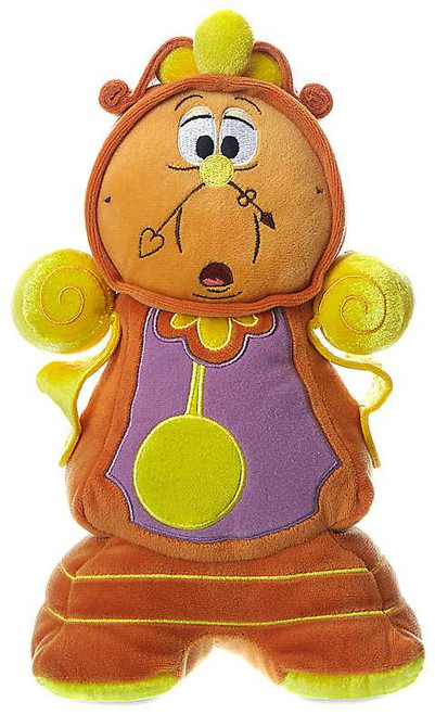 Disney Princess Beauty and the Beast Cogsworth Exclusive 10.5-Inch Plush