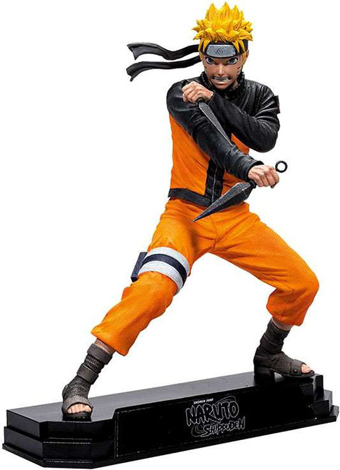McFarlane Toys Naruto Shippuden Color Tops Green Wave Naruto Action Figure #21