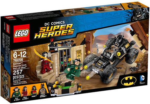 LEGO DC Super Heroes Batman: Rescue from Ra's al Ghul Exclusive Set #76056