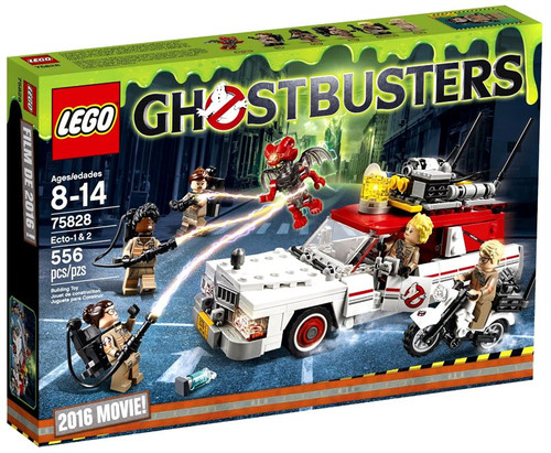 LEGO Ghostbusters 2016 Movie Ecto-1 & 2 Set #75828