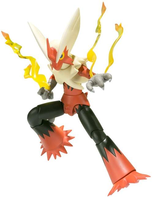 Pokemon S.H. Figuarts Mega Blaziken Action Figure