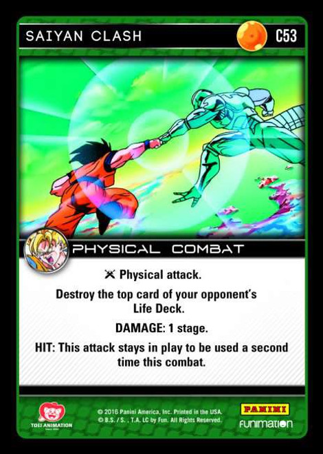 Dragon Ball Z Vengeance Common Saiyan Clash C53