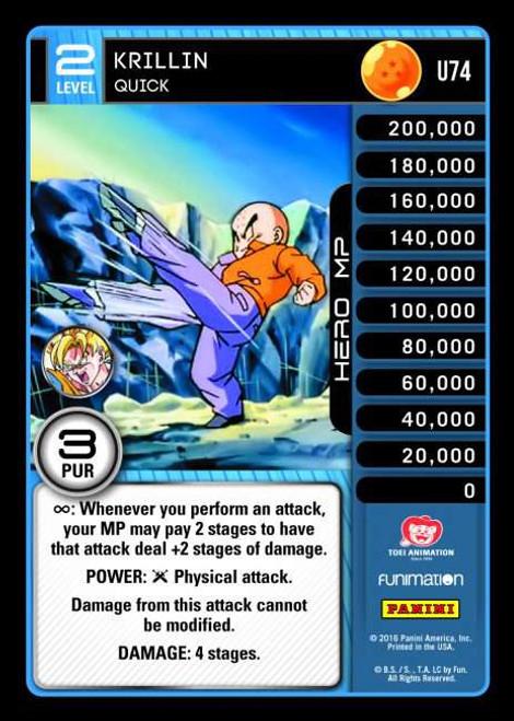 Dragon Ball Z Vengeance Uncommon Krillin - Quick U74