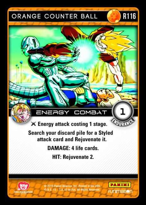 Dragon Ball Z Vengeance Rare Orange Counter Ball R116