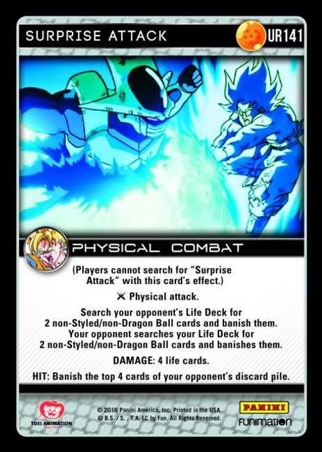 Dragon Ball Z CCG Vengeance Ultra Rare Surprise Attack UR141