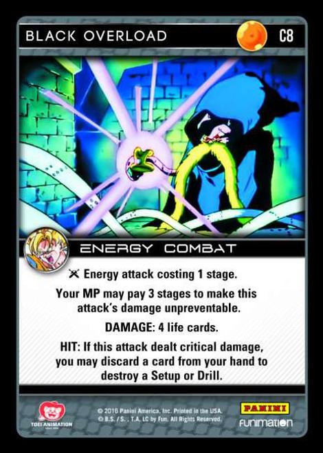 Dragon Ball Z CCG Vengeance Common Foil Black Overload C8