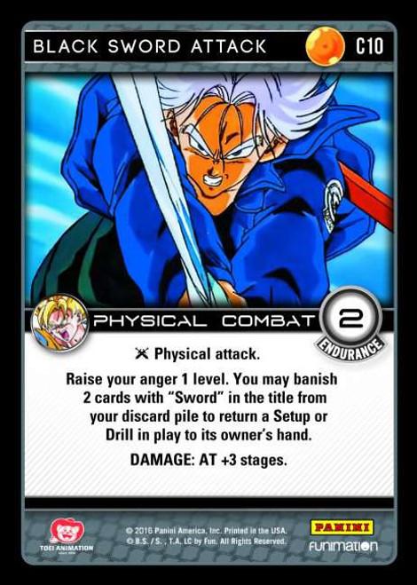 Dragon Ball Z CCG Vengeance Common Foil Black Sword Attack C10