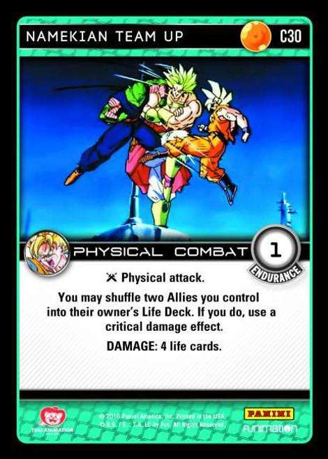 Dragon Ball Z Vengeance Common Foil Namekian Team Up C30