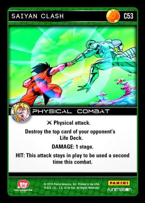 Dragon Ball Z Vengeance Common Foil Saiyan Clash C53