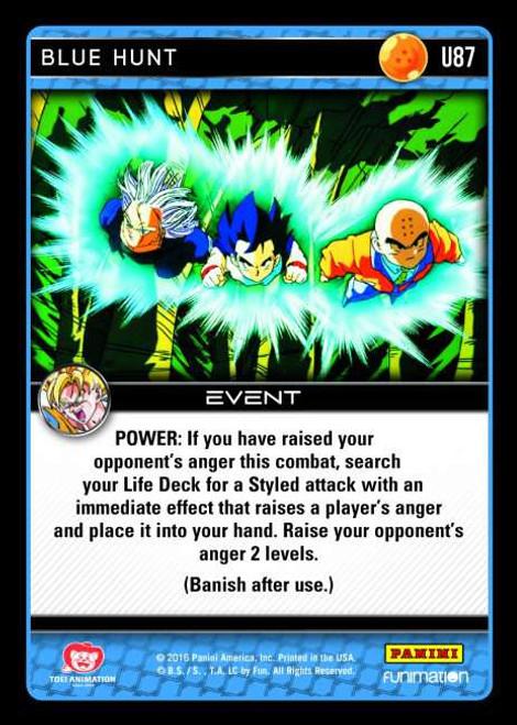 Dragon Ball Z Vengeance Uncommon Foil Blue Hunt U87