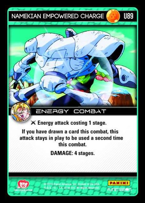 Dragon Ball Z CCG Vengeance Uncommon Foil Namekian Empowered Charge U89