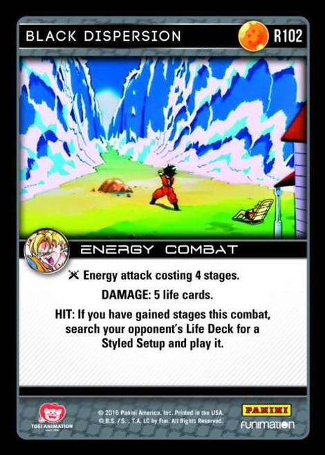 Dragon Ball Z Vengeance Rare Foil Black Dispersion R102